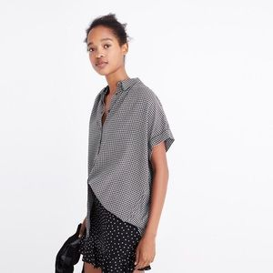 Madewell Central Shirt in Haden Plaid